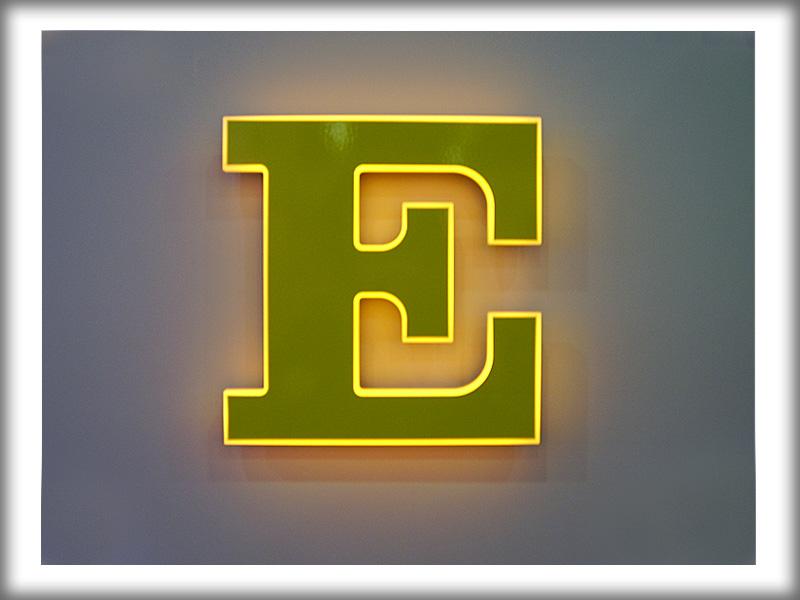 Объемные буквы световые буквы